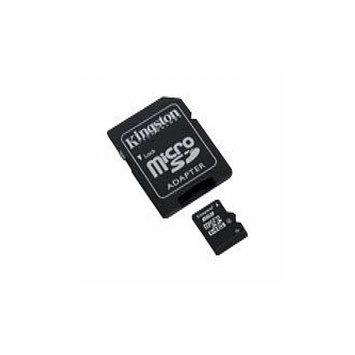 Kingston SDC10/8GBSP 8GB MicroSDHC Class 10 Flash Memory Card