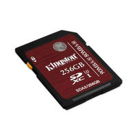 Kingston 256GB SDXC UHS-I SPEED CLASS 3 90MB/S READ 80MB/S WRITE FLASH CARD