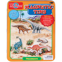 Overstock T.S. Shure Dinosaurs Magnetic Tin Playset