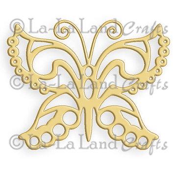 La La Land Crafts La-La Land Die-Fancy Butterfly