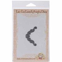 La La Land Crafts La-La Land Die-Heart Ribbon Corner, 1.75