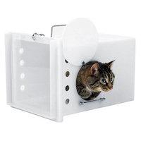 Tomahawk Live Trap Llc Tomahawk Feral Cat Den with Clear Door