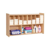 Steffy Wood Products Wall Diaper Shelf
