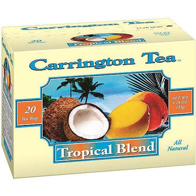 Carrington Tea Tropical Blend Tea Bags, 20 count per box, 1.25 oz, Pack of 6