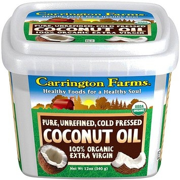 Carrington Farms - 100% Organic Pure Unrefined Cold Pressed Extra Virgin Coconut Oil