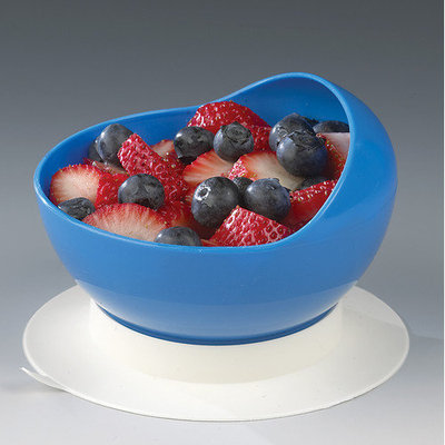 Ableware Scooper Bowl with Suction Cup Base