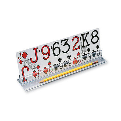 Ableware Playing Card Holder with Low Vision Cards