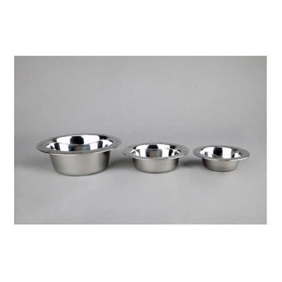 Embossed Stainless Steel Dish - 2 qt.