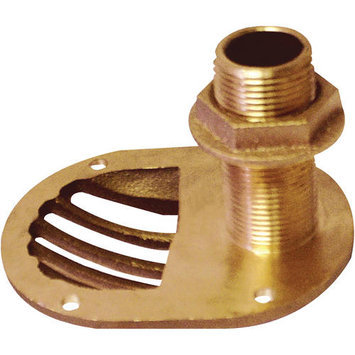 Groco STH750W 3/4Inscoop Thru-Hull With Nut