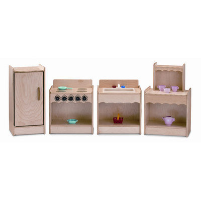 Jonti-Craft 2075JC Jonti-Craft Toddler Contempo Kitchen- 4 Pc Set