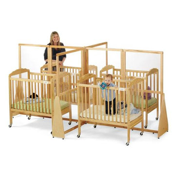 JONTI-CRAFT 1653JC JONTI-CRAFT SEE-THRU CRIB DIVIDER - QUAD