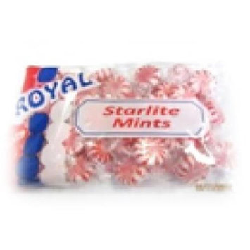 Royal Candy Starlight Mints Candy Case of Six 7 Oz. Bags