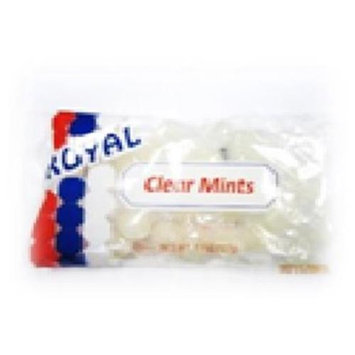 Royal Candy Clear Mints Candy Case of Six 7 Oz. Bags