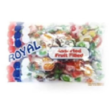 Royal Candy Assorted Filled Candy Case of Six 8 Oz. Bags
