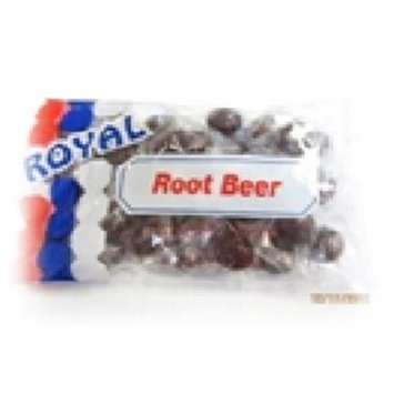 Royal Candy Rootbeer Candy Case of Six 7 Oz. Bags