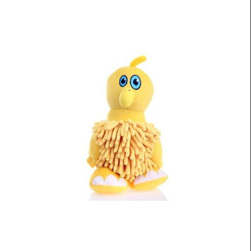 Go Dog Mopz Bird Dog Toy, Color: Yellow, Size: Small