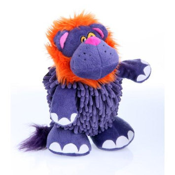 Go Dog Mopz Lion Dog Toy, Color: Purple, Size: Small