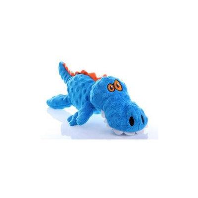 Quaker Pet Group Quaker Pet Go Dog Gators Dog Toy Large Blue 774019