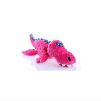 Quaker Pet Group Quaker Pet Go Dog Gators Dog Toy Large Pink 774023