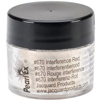 Jacquard Products Jacquard Pearl Ex Powdered Pigments 3g-Interference Red