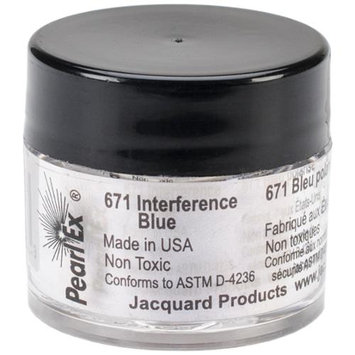 Jacquard Products JACU-671 Jacquard Pearl Ex Powdered Pigment 3g-Interference Blue