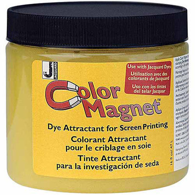 Jaquard Color Magnet Silk Screen Dye Attract