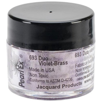 Jacquard Products Jacquard Pearl Ex Powdered Pigments 3g-Duo Violet-Brass