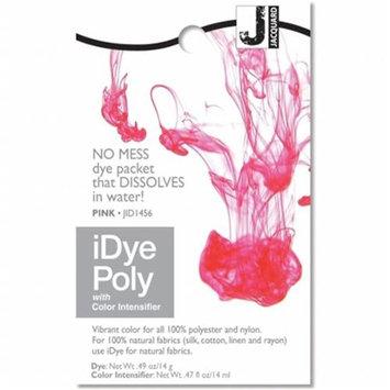 Jacquard Idye Synth Fabric: Pink