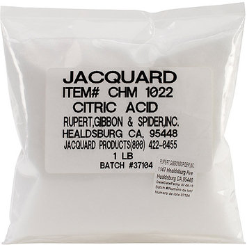 Jacquard Products CHM1022 Jacquard Citric Acid 1lb