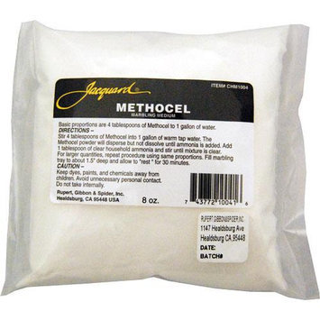 Jacquard Methocel 8oz Pkg For Marbling