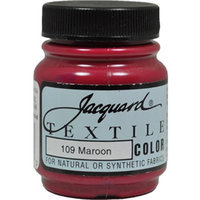 Jacquard Textile Colors, 109 Maroon, 2.25 oz