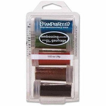Stampendous Embossing Powder Kit 5/Pkg-Lodestar