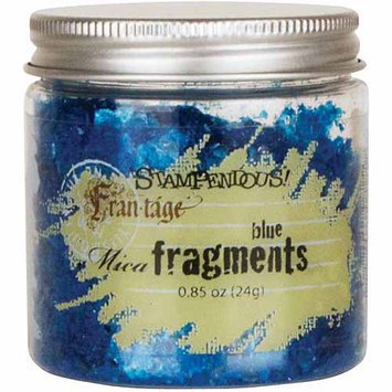Stampendous Mica Fragments .67oz-Green