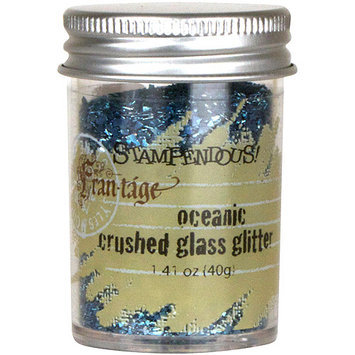 Stampendous Glass Glitter, 1.4 oz, Oceanic