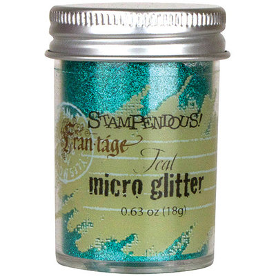 Stampendous Micro Glitter-Teal