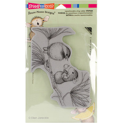 NOTM079685 - Stampendous House Mouse Cling Rubber Stamp 3.5
