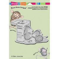 NOTM310063 - Stampendous House Mouse Cling Rubber Stamp 5.5
