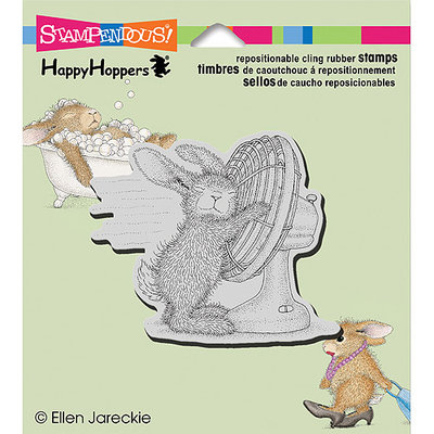 NOTM310058 - Stampendous HappyHopper Cling Rubber Stamp 3.5