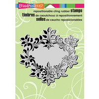 Stampendous Cling Rubber Stamp 5.5inX4.5in Sheet-Classic Frame