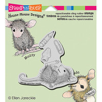 Stampendous House Mouse Cling Rubber Stamp 3.5inX4in Sheet-School Supplies