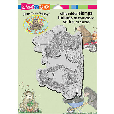 Stampendous Gruffies Cling Rubber Stamp 5.5