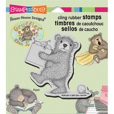 Stampendous Gruffies Cling Rubber Stamp 3.5