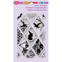 Stampendous Perfectly Clear Halloween Stamps 4