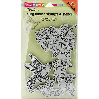Stampendous Cling Rubber Stamp 5