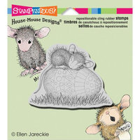 Stampendous House Mouse Cling Rubber Stamp 4