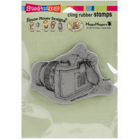 Stampendous House Mouse Cling Rubber Stamp 6.5X4.5 Pkg-Say Cheese