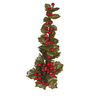 Oddity, Inc. Oddity Inc. 49044 1 in. Red Hollyberry Candle Climber - Pack of 6