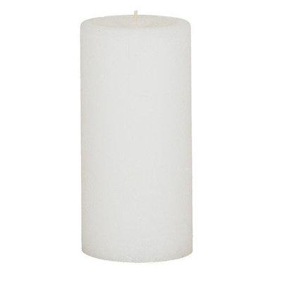 Oddity, Inc. Weathered Fresh Linen Pillar Candle Size: 6
