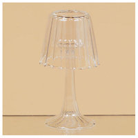 Oddity, Inc. Oddity Inc. 79552 3.5 in. x 5.5 in. Glass Lamp Shaped Tea Light Holder - Pack of 2