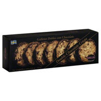 Gille Double Chocolate Crisps - 12 Boxes (4.4 oz ea)